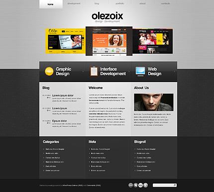 magnificent wordpress theme for web design company elaboration